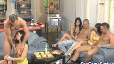 Sucking party sex game